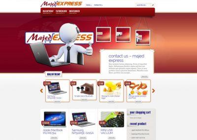 majedexpress.com